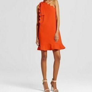 Victoria Beckham Target One Shoulder Dress